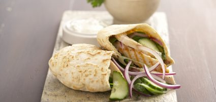 Chicken Pitta Recipe